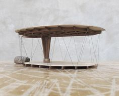 A Pavilion. Swedish. To conform with a code. http://weburbanist.com/2015/01/01/form-follows-footprint-forest-retreat-just-fits-local-codes/