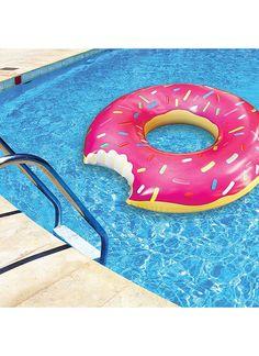 #Flotador con forma de donut de Los SImpsons