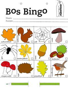 Wie heeft het eerst zijn bingokaart vol?! Print deze en neem 'm mee tijdens eeen lange wandeling! #AllesVoor #Bingo #Wandeling