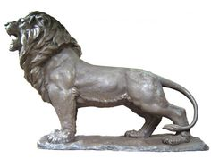 Lion Sculptures | Lion bronze sculpture| Lion bronze statue | animal sculpture | animal ...