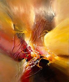 Dan Bunea, large living abstract paintings - My collections of paintings: