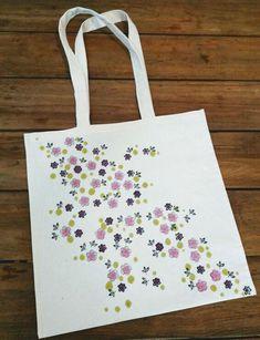 Návod na jarní kytičkovou tašku pro maminku