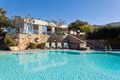 Villa Demetra and its beautiful pool. Photography: Benedetto Tarantino