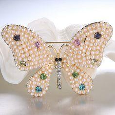 Broschen, Schmetterling http://www.perlinshop.com/Produkt/Zinklegierung-Broschen_p186736.html?Utm_rid=78048