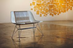 A Reimagined Eames DSR Chair for Two
