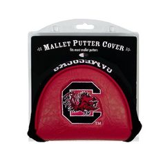 NCAA South Carolina Mallet Putter Cover by Team Golf. $15.49. Protect your putter while supporting your favorite collegiate team with this officially licensed NCAA® mallet putter cover from Team Golf. The cover fits most mallet putters and includes a fleece lining for extra club protection. A strong VELCRO® brand closure ensures stability.