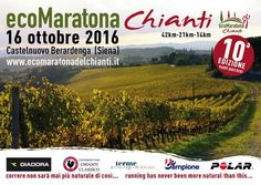 Come to run through the Chianti vineyards