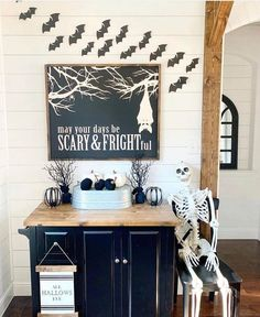 31 Haunted Farmhouse Halloween Decorating Ideas »