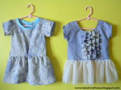 Handicraftiness: Results of My Recent Sewing Frenzy- Part 2