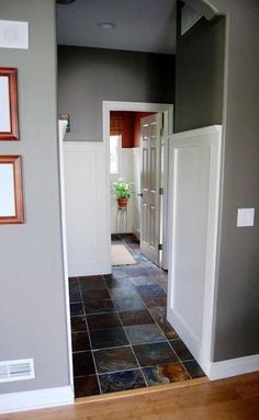 4 Respected Clever Tips: Raised Panel Wainscoting Diy wainscoting door board and...#board #clever #diy #door #panel #raised #respected #tips #wainscoting Wainscoting Height, Painted Wainscoting, Dining Room Wainscoting, Wainscoting Ideas, Bathroom Wainscotting, Wainscoting Nursery, Wainscoting Panels, Bathroom Cabinets, Sol Sombre