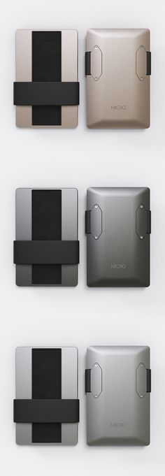 A BEAUTIFUL but FUNCTIONAL minimalist wallet made from premium grade aluminium with a PVD finish! | Crowdfunding is a democratic way to support the fundraising needs of your community. Make a contribution today!