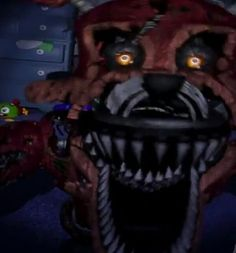 1000 Images About Nightmare Foxy On Pinterest Fnaf The