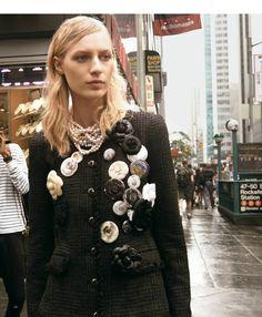 visual optimism; fashion editorials, shows, campaigns & more!: urban fabric: julia nobis by glen luchford for the ny times t style women's fall fashion 2013