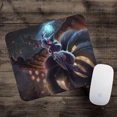 Midnight Ahri Mousepad League of Legends mouse pad LoL gamer playmat #UnbrandedGeneric