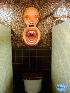 Looking for unique bathroom design ideas? How about toilet seat art? Potty Mouth Tours give a close up look at Scum of the Earth Church's bathroom art . Bathroom Humor, Bathroom Art, Bathroom Ideas, Bathrooms, Toilet Art, Toilet Room, Funny Toilet Seats, Cool Toilets, Toilet Paper Roll Crafts