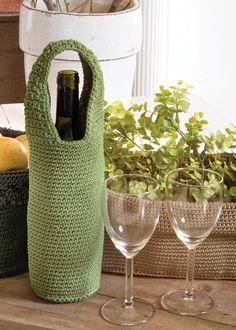 Another great wine bottle wrap. Comes in 9 different colors!