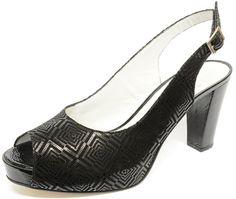 #sandale en #cuir #fantaisie et talon #trotteur sur une semelle à #patin. Fashion! disponible jusqu'au 48, #chaussure, #chaussurefemme , #grandetaille, #grandepointure, #femme, #mode  , #talonhaut, #talonaiguille, #gay, #travesti, #sexy