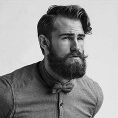 The Ubiquitous Beard - beardsinblackandwhite:   @robin_nohood  #beard...