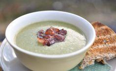 Spinat og brokkolisuppe