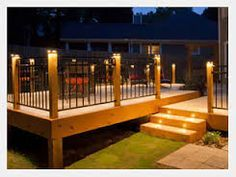 20 x 20 deck with 10 extension building plans only at menards image result for fortress railing lights solutioingenieria Images