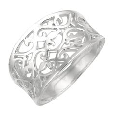 Filigree Ring in Sterling Silver #FredMeyerJewelers and #GiftsThatDelight