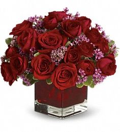 Never Let Go by Teleflora - 18 Red Roses in Chesapeake VA, Lasting Impressions Florist & Gifts
