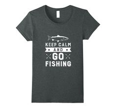 Keep Calm and Go Fishing T-shirt for Fisherman