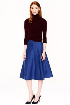 19 Midi-Skirts To Get Your Swish On #refinery29