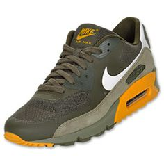 The Nike Air Max 90 Fuse Men\u0026#39;s Running Shoes - 532470 317 - Shop Finish Line today! Cargo Khaki/White/Canyon Gold \u0026amp; more colors. Reviews, in-store pickup ...