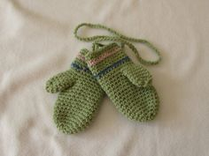 How to crochet EASY children's mittens for beginners