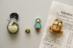 Totoro Fridge Magnets (by The Quiff Is Dead)