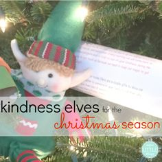 the true spirit of christmas is something i want my kids to understand, first and foremost. but that's easier said than done. in my quest to teach them the true meaning of christmas, we introduced the kindness elves when E was three. i didn't want my kids to miss out on the whole elf-on-the-shelf concept but i wanted something a LITTLE more centered around what's most important at christmas time. feeling the same way? check out our kindness elves tradition.