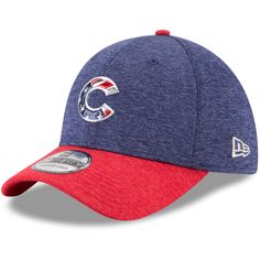 39da9286fe0 Chicago Cubs Stars  amp  Stripes 39THIRTY Flex Hat  ChicagoCubs  Cubs   FlyTheW