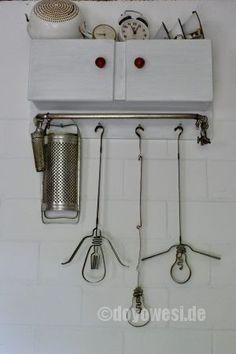 Stahlband-Silhouette (Glüh-)Lampe - Karin Urban - NaturalSTyle