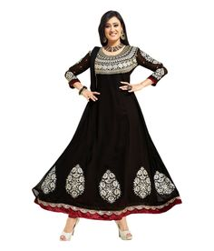 Loved it: Ajay And Vijay Black Embroidered Pure Georgette Semi Stitched Anarkali Salwar Suit, http://www.snapdeal.com/product/ajay-and-vijay-black-embroidered/1989727830