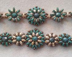 Desert Flower Bracelet- Beading Tutorial