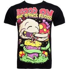 Blood on the Dance Floor Mario t shirt - black Mario tee - BOTDF merch... ($21) ❤ liked on Polyvore