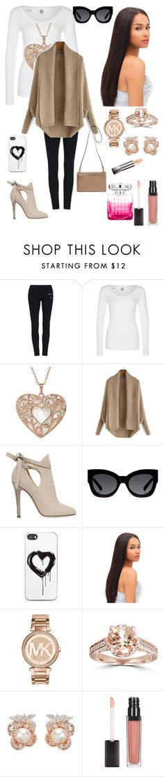 """""""Love the fall"""" by ashleynicole22 ❤ liked on Polyvore featuring G-Star, Jimmy Choo, Karen Walker, Zero Gravity, Michael Kors, Bliss Diamond, Anabela Chan and Burberry"""