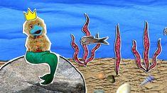 Hoela zingt over het leven onder water. School Tv, Project 4, Animal Projects, 4 Kids, Videos, Moose Art, Mermaid, Teaching, Pets