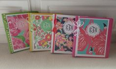Free printable Lilly Pulitzer binder covers