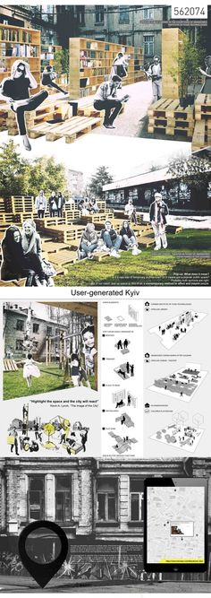 2nd prize panel: POP-UP KIEV by Polina Timofeeva, Galyna Tolkachova, Pavel Bartov (Perm, Russia). Image courtesy of CANactions.