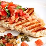 Spicy Tomato-Jalapeno Chicken Breasts