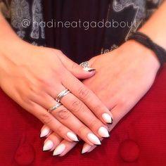 Nail Ideas, Nails, Rings, Jewelry, Fashion, Finger Nails, Moda, Jewlery, Ongles
