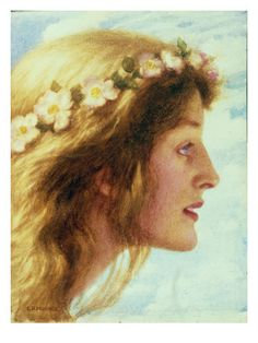 Day, c.1880-85 Giclee Print by Edward Robert Hughes