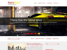If you are mad about cars, speed and extreme driving then this dynamic free WordPress theme is created for you. AeroMad gives you all that you may need when developing a website: free logotype psd file, free custom widgets to list your recent news or events, social buttons to make people share your content and of course contact page template. Social Bar, Seo Optimization, Themes Free, Responsive Web Design, Recent News, Page Template, Premium Wordpress Themes, Mad, Events