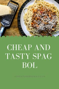 Who loves Spaghetti Bolognese? i love a good spag bol recipe and this one is both a cheap recipe and a healthy meal for the family. Spag Bol Recipe, Recipe Recipe, Quick Recipes, Healthy Recipes, Amazing Recipes, Spaghetti Bolognese, Pasta, Bacon Bits, Smoked Bacon
