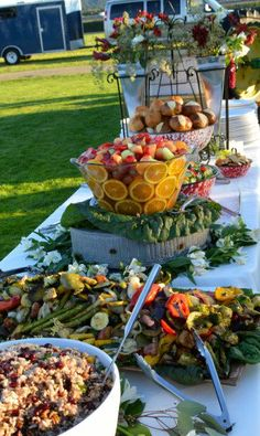 Wonderful local catering business that offers a great range of options. Wonderful local catering business that offers a great range Local Catering, Catering Buffet, Catering Display, Catering Business, Wedding Catering, Catering Ideas, Bridal Shower Menu, Simple Bridal Shower, Lunch Table Settings