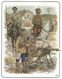 The Civil War in Russia 1917 - 1922. interventionist forces