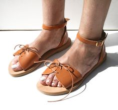 Greek Leather Sandals,handmade sandals,Greek pattern,Ancient Greek sandals,Athenian Boho,Ankle straps, Lace up,real leather,flat sandals Leather Sandals Flat, Flat Sandals, Flats, Greek Pattern, Ancient Greek Sandals, Ankle Straps, Handmade Leather, Real Leather, Trending Outfits
