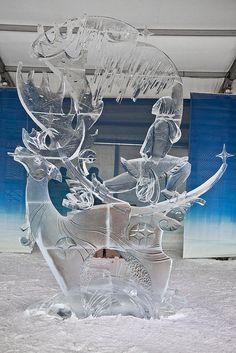 25th Rogers International Ice-Carving Competition - 25e Concours international de sculpture sur glace Rogers (2012) - Milky Way - La voie lactée (2) by Canada's Capital - Capitale du Canada, via Flickr